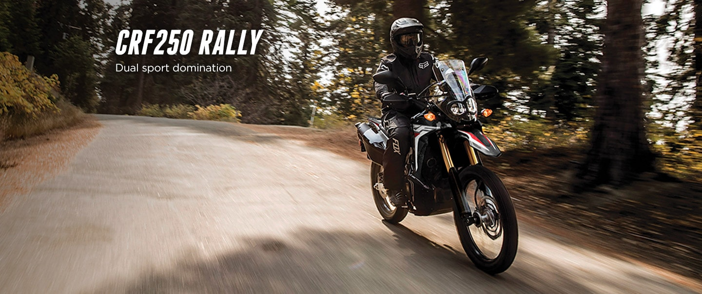 CRF250 Rally > The Dirtbike for Thrill Seekers
