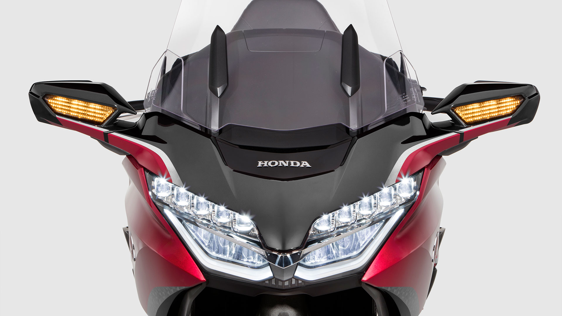 Close-Up. Front-View. LED Headlights.